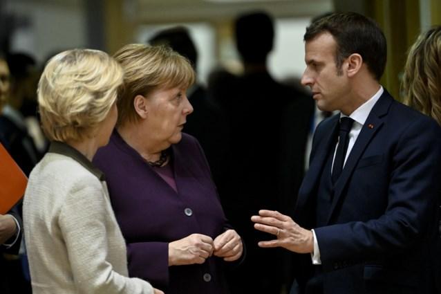 Merkel en Macron willen met Poetin en Erdogan politieke oplossing voor Idlib uitwerken