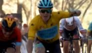 Ongelukkige Dylan Teuns gaat rechtdoor in laatste bocht in Ruta del Sol, leider Fuglsang wint opnieuw
