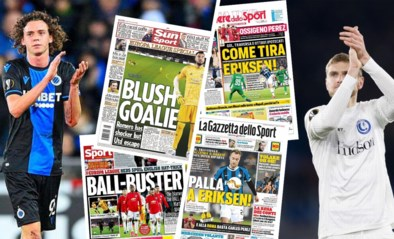 """Engelsen zien """"Dennis the Menace"""" bij Club en zoeken excuus bij de bal, AA Gent in Rome is geen groot nieuws in Italië"""