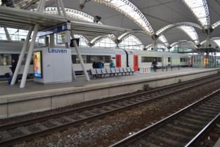 Persoon aangereden door trein in station Leuven