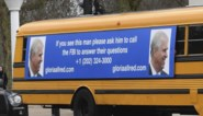 Niet mis te verstane boodschap passeert voorbij Buckingham Palace