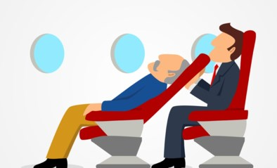 """Het mag je medepassagiers dan wel frustreren, je moet je er niet voor schamen: """"Stoel laten zakken, mag in het vliegtuig"""""""