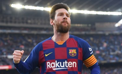 Een, twee, drie, vier: Lionel Messi maakt het Barcelona wel héél makkelijk tegen staartploeg Eibar
