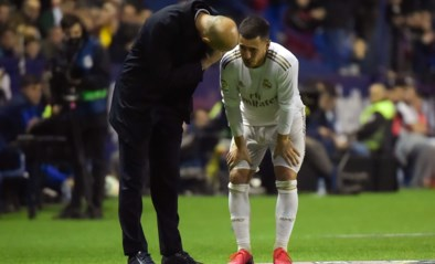Drama voor Real Madrid: het verliest van Levante en ziet Eden Hazard  weer uitvallen met enkelblessure