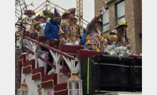 Gildegarde mee in Tiense carnavalstoet