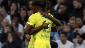 Anthony Limbombe helpt Nantes met doelpunt voorbij Olympique Marseille