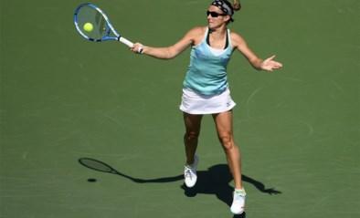 Kirsten Flipkens rekent eenvoudig af met Greet Minnen en plaatst zich voor de hoofdtabel op WTA-toernooi van Doha