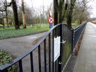 Stadspark opnieuw afgesloten
