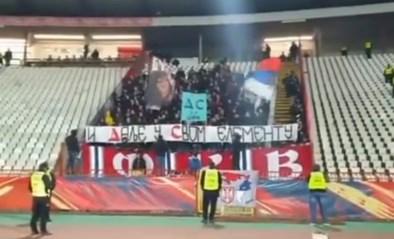 Zo kan het ook: Servische ultra's halen schitterende grap uit met bezoekende fans