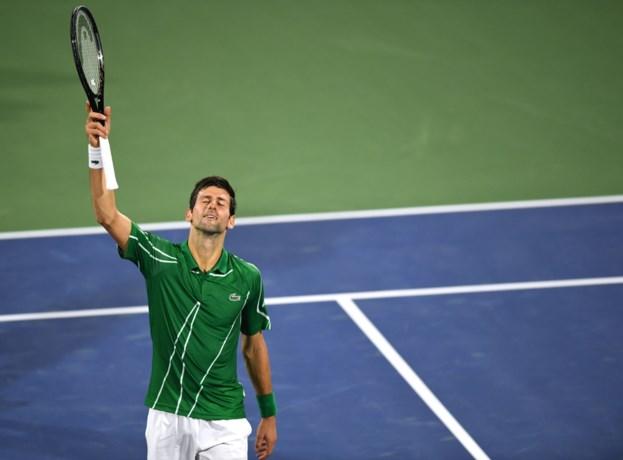 Djokovic zet Jaziri vlot opzij in eerste duel sinds Australian Open op ATP Dubai