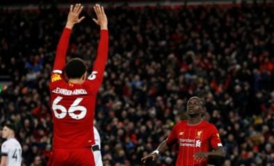 West Ham doet Liverpool even wankelen, maar raapt finaal niks op Anfield