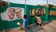 Blitzbezoek aan India, waar Trump zijn muur wel krijgt
