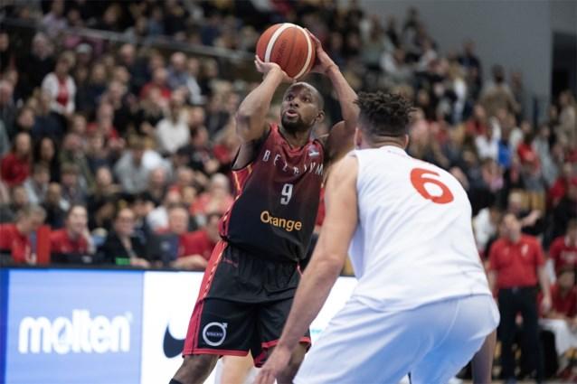 """Belgian Lions blijven ook tegen Denemarken foutloos op weg naar het EK, Jonathan """"Taboem"""" Tabu blinkt uit"""