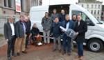 Eerste elektrische bestelwagen wordt mobiele werkplaats voor gemeentelijke werklieden