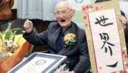 Oudste man ter wereld overleden