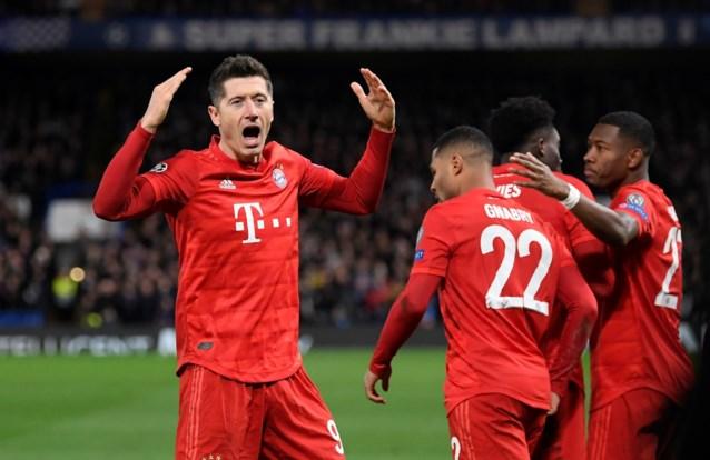 Gnabry en Lewandowski nekken Chelsea