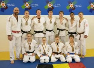 10 BK-medailles voor Judoclub Herzele