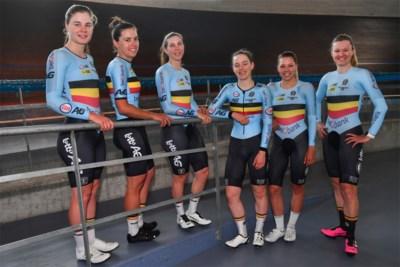 Belgische sneltrein op weg naar Tokio: vrouwen van ploegenachtervolging staan op zucht van wielergeschiedenis