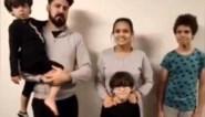 Met uitwijzing bedreigd Braziliaans gezin weer vrij