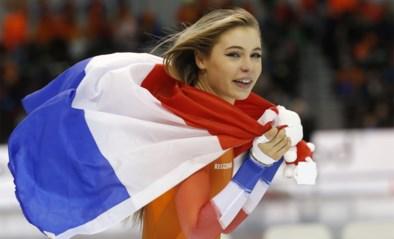 """Het gaat hard voor Jutta Leerdam, de 'babe' die een schaatskoningin is geworden: """"Nog geen tijd gehad om los te gaan"""""""