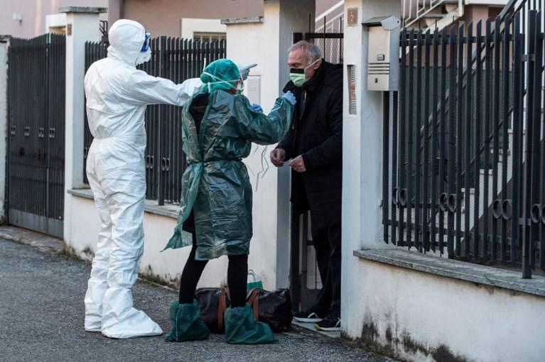 Inwoners quarantainedorpen in Italië omzeilen blokkades