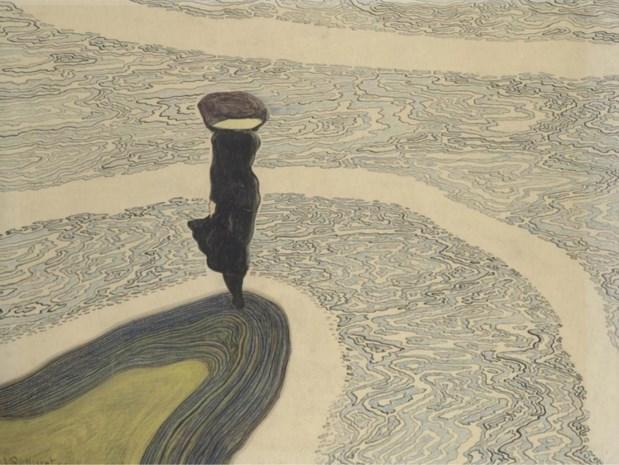 RECENSIE. Léon Spilliaert in de Londense Royal Academy: Nachtraaf steekt het Kanaal over ****