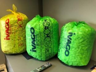 Gele vuilniszak wordt groene vuilniszak in Gent