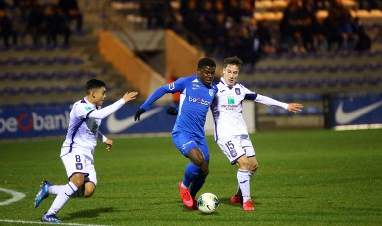 Yari Verschaeren speelde eerste minuten in 2020 met Anderlecht (wel nog bij de beloften)