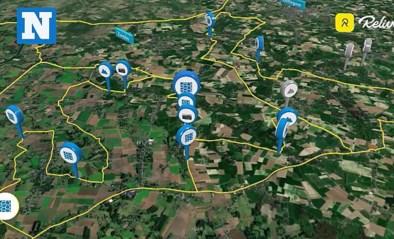Verken het parcours van de Omloop Het Nieuwsblad zoals u het nog nooit verkende: met onze unieke Relive-video