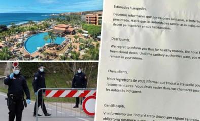 110 Belgen zitten vast in hotel op Tenerife nadat Italiaanse man besmet blijkt met coronavirus, 1.000 gasten in quarantaine