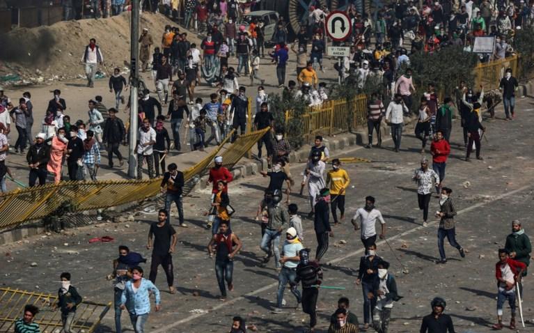 Zeker dertien doden bij betogingen tijdens bezoek van Trump aan India