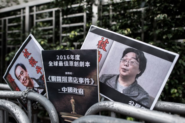 China veroordeelt Chinees-Zweedse boekhandelaar tot tien jaar cel