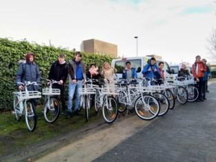 Vijftien fietsen voor GO!school