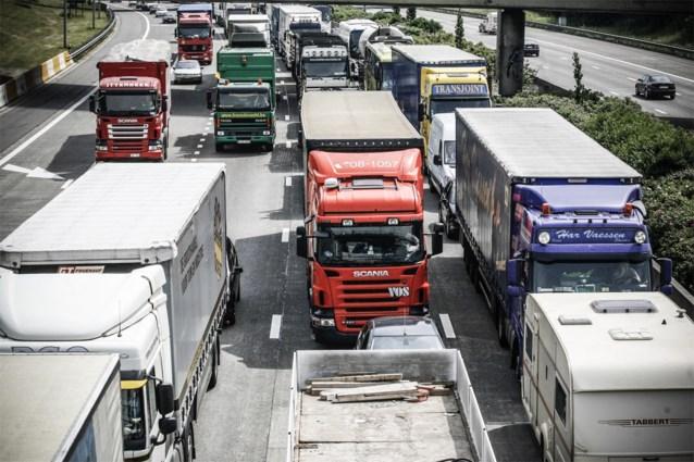 Verkeersdrukte in België nam vorig jaar toe met 1 procent