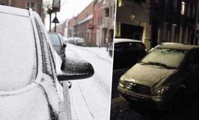 Verkeershinder bleef grotendeels uit, maar er kan deze week nog sneeuw vallen