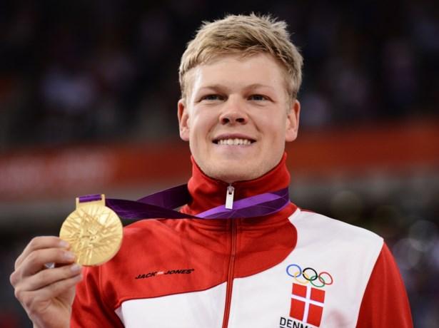 Ploegmaat van Mathieu van der Poel vestigt met Denemarken nieuw wereldrecord ploegenachtervolging.