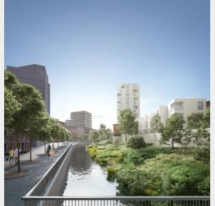 Beton wijkt voor park dat dubbelzo groot wordt als Ladeuzeplein
