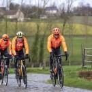 Greg Van Avermaet, Guillaume Van Keirsbulck en Nathan Van Hooydonck