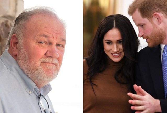 """Vader Markle: """"Ik ben bijzonder boos op Meghan en Harry"""""""