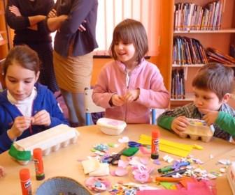 Artistieke workshops tijdens Jeugdboekenmaand