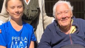 """Grootvader van Greta Thunberg overleden: """"We missen hem vreselijk"""""""