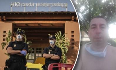 """Belgen zeker 14 dagen vast in getroffen corona-hotel op Tenerife: """"Tegenvaller, maar liever hier dan in quarantaine in het militair hospitaal"""""""