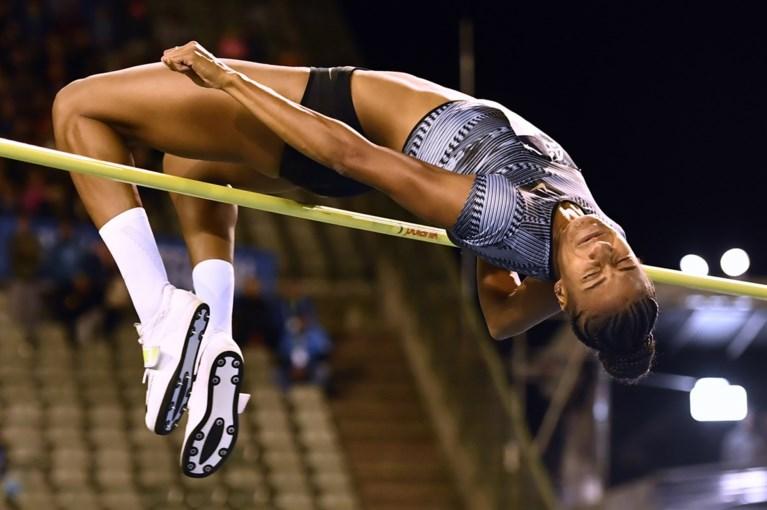 Eerste wedstrijd in de VS voor Nafi Thiam: ze gaat hoogspringen bij de Diamond League in Eugene