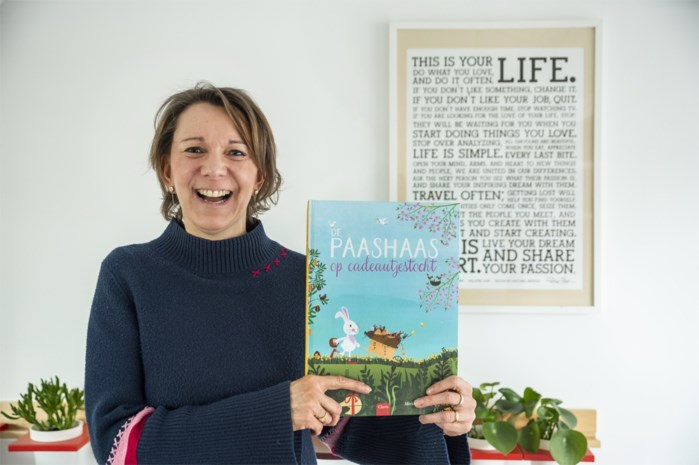 Kinderboeken van Mieke over kerstman en paashaas veroveren straks ook VS