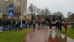 Koude houdt supporters AS Roma uit centrum Gent