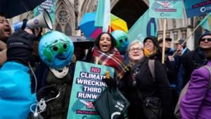 Rechter houdt uitbreiding luchthaven Heathrow tegen: plannen houden niet genoeg rekening met strijd tegen klimaatopwarming