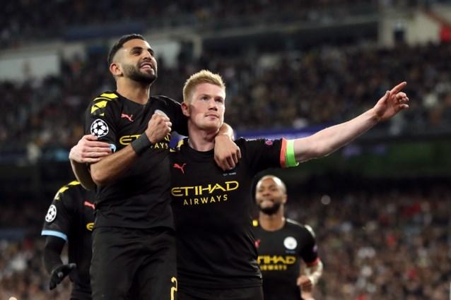 Matador De Bruyne schiet Manchester City voorbij Real Madrid