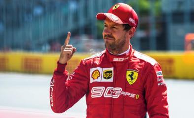 F1-piloot Sebastian Vettel op weg naar nieuw contract bij Ferrari?