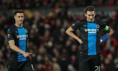 Rode kaart Simon Deli hypothekeert Brugse stunt in Old Trafford: blauw-zwart krijgt vijf goals om de oren tegen Man United