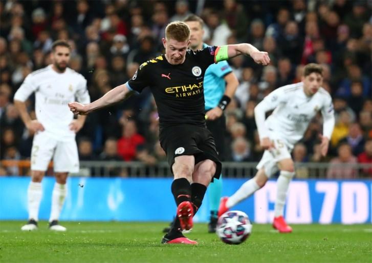 <I>Matador </I>De Bruyne schiet Manchester City voorbij Real Madrid